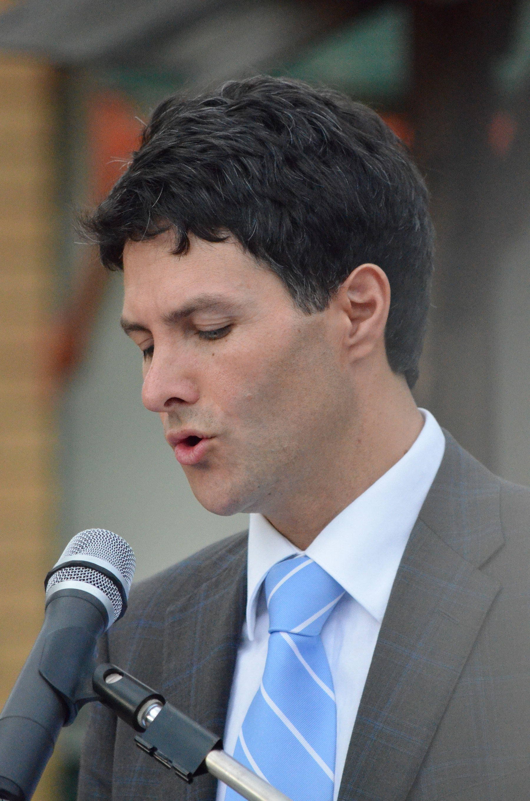03 Victor Dominello MP Giving Address for 70th Commemoration at Lamia Barracks 16 Sept 2011