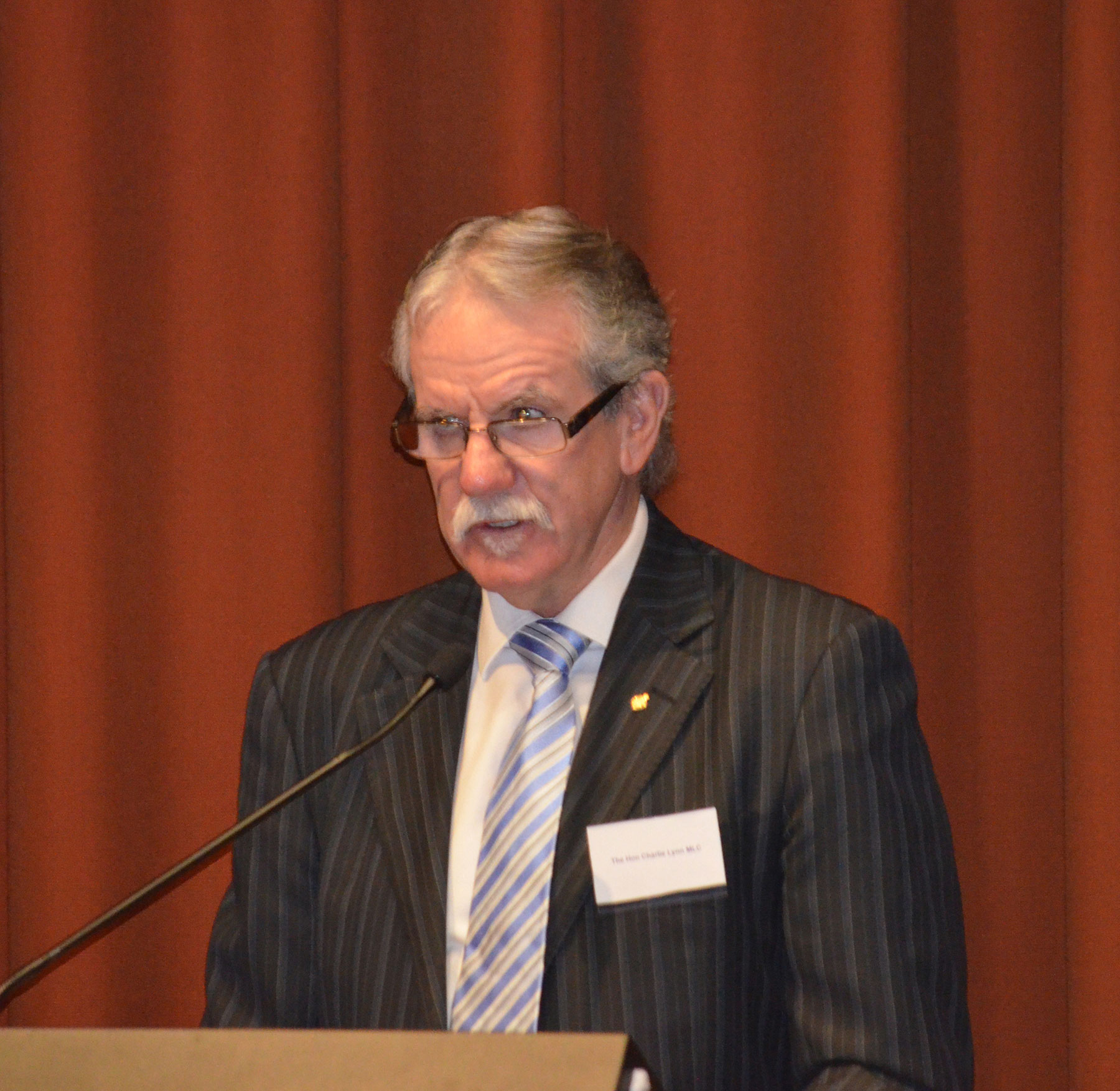 03 Symposium 6th Dec 2012. Charlie Lynn Mlc