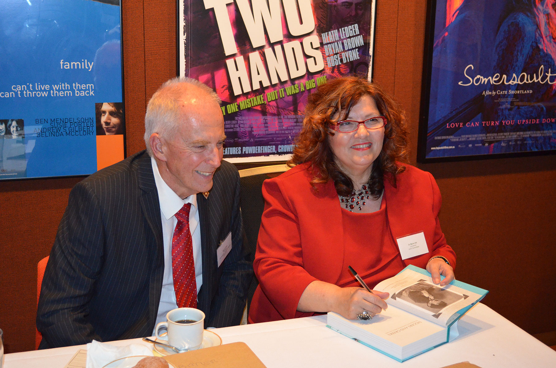 08 Symposium 6th Dec 2012. Maria Hill and Keith Lloyd Book Signing
